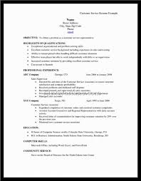Customer Service Resumes Examples by Captivating Resume Skills Examples