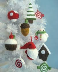 12 knitting patterns for ornaments pattern