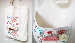ika jakarta folding bag wedding favors