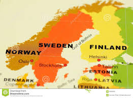 Map Sweden Sweden Map Stock Images Image 6301494