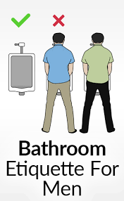 bathroom men rules for urinating in public bathrooms privacy in a public