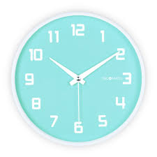 silent wall clocks fruity blueberry silent wall clock decomates
