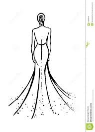 fashion model sketch royalty free stock images image 23968699