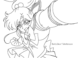 sailor astera coloring book