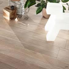 White Tile Effect Laminate Flooring Series Wood Effect Tortora Porcelain Floor Tiles 1200x200mm