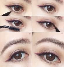 liquid eyeliner tutorial asian powerful women their eyeliners by kate tokyo bun bun makeup
