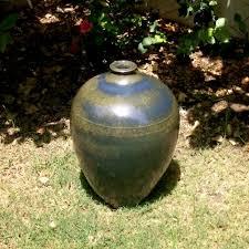 speckled green glaze ceramic pot mybageecha