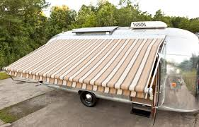 Vintage Trailer Awning Retro Awning New Prairie Construction