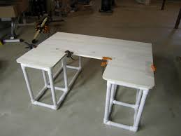 Diy Pipe Desk by Pvc Desk U2026 Pinteres U2026
