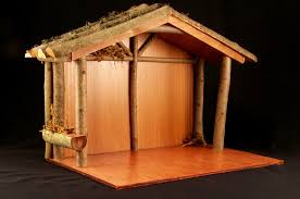 tree sheds nativity shed plans