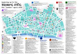 New York City Map Pdf by Choose Your Poison A Map Of The U0027square Mile U0027 For Antiglobalist
