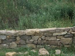 Garden Wall Retaining Blocks by Dry Stack Stone Wall Google Search Garden Pinterest Dry