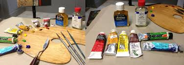 get started with oil painting using water soluble paints
