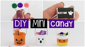 diy mini halloween buckets with real edible mini chocolate u0026 candy