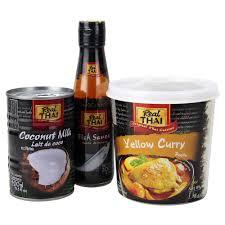 cuisine du p駻ou 双11预售 丽尔泰黄咖喱酱1kg 椰浆400ml 鱼露200ml 38元包邮 10元定金