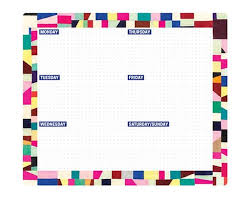 Weekly Desk Pad 10 Awesome Weekly Planner Pads To Get You Organised In Style