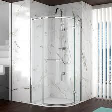 Merlin Shower Doors Doors Enclosures Merlyn 8 Series Frameless 1 Door Quadrant