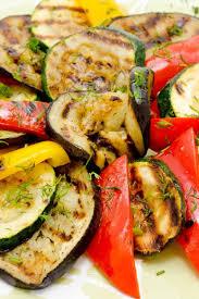 grilled vegetables kitchme