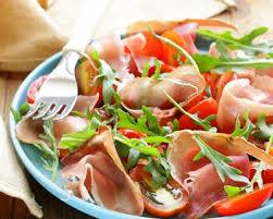 cuisine az com recette salade basquaise au jambon cru facile rapide