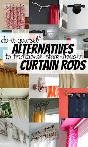 Easy Curtain Rods Remodelaholic 25 Creative Diy Curtain Rod Tutorials