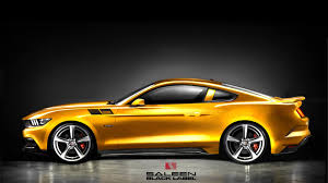 Mustang Yellow And Black 2015 Saleen S302 Mustang Specs Revealed Order Books Opened