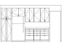 Autocad Kitchen Cabinet Blocks Exellent Kitchen Cabinets Elevations Cool Elevation Cad Autocad
