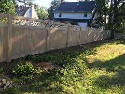 vinyl fence portfolio westchester fence company 914 337 8700