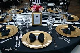 black and white table settings red and black table settings red black and white table black and