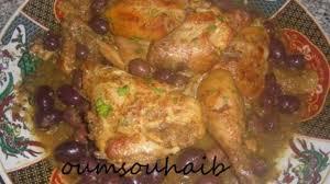 cuisine marocaine poulet aux olives poulet marocain aux olives et citron confit recette par