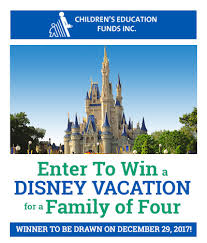 California how to become a disney travel agent images Enter to win a disney vacation for a family of four cefi jpg