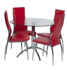standard furniture dining room chair parsons 2 carton red daly