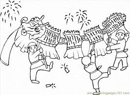 coloring pages chinese new year entertainment holidays free 620283