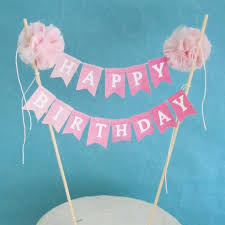 cake banner topper best 25 cake bunting ideas on happy birthday cake