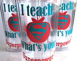 christmas teacher gift personalized teacher cup i teach