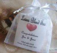 tea bag party favors personalized tea favors my favorite favors gifts