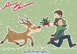 digital christmas cards supernatural christmas card by silassamle on deviantart