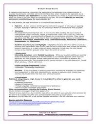 Examples Of College Graduate Resumes by Example Of Resume For Graduate Examples Http Www