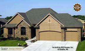 Saffron  French Country Home Plan At Design Basics - French country home design