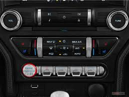 86 Mustang Gt Interior 2017 Ford Mustang Interior U S News U0026 World Report