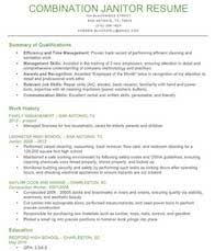 Sample Resume For Janitorial Position by Home Design Ideas Janitor Professional Profile Resume Profile