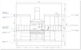 kitchen gorgeous kitchen elevation dimensions interesting idea
