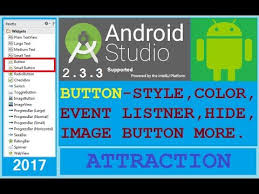android button style 4 android studio 2 3 3 button style design shape button click