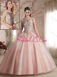 light pink quinceanera dresses see through scoop light pink quinceanera dress with beading