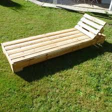 chaise longue palette chambre chaise longue palette bois images about meubles palette