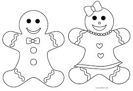 gingerbread boy coloring coloring