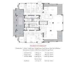 floor plans mansions at acqualina acqualina sunny isles