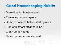 good housekeeping maintaining focus ppt video online download