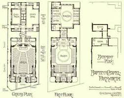Exceptional Floor Plans For Churches Part 3 Church Floor Plans by Chapter Iii Nonconformist And Exceptional Places Of Worship