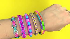 looms bracelet easy images Rainbow loom diy 5 easy rainbow loom bracelets without a loom jpg