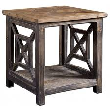 Natural Wood End Tables End Tables Designs Solid Wood End Tables Spiral Reclaimed Solid